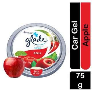 Glade Car Gel - Air Freshener with Apple Fragrance