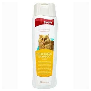 Bioline Deshedding Cat Shampoo