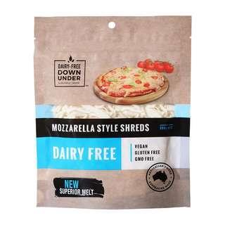 Dairy Free Down Under Mozzarella Style Shreds