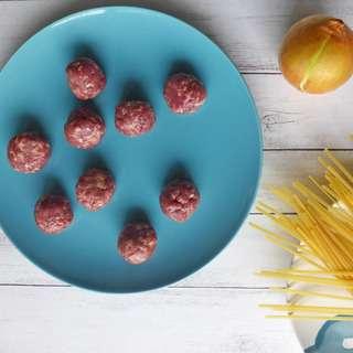 Baggie's Premium Grass-Fed Beef Meatballs