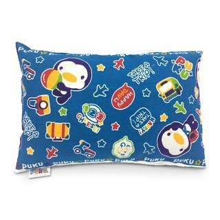 Puku Pillow S With 100 Percent Cotton Case - Holiday Blue