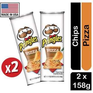 Pringles Pizza Flavored Potato Crisps