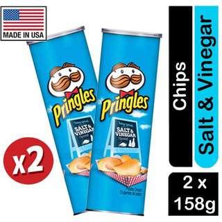 Pringles Salt & Vinegar Flavored Potato Crisps