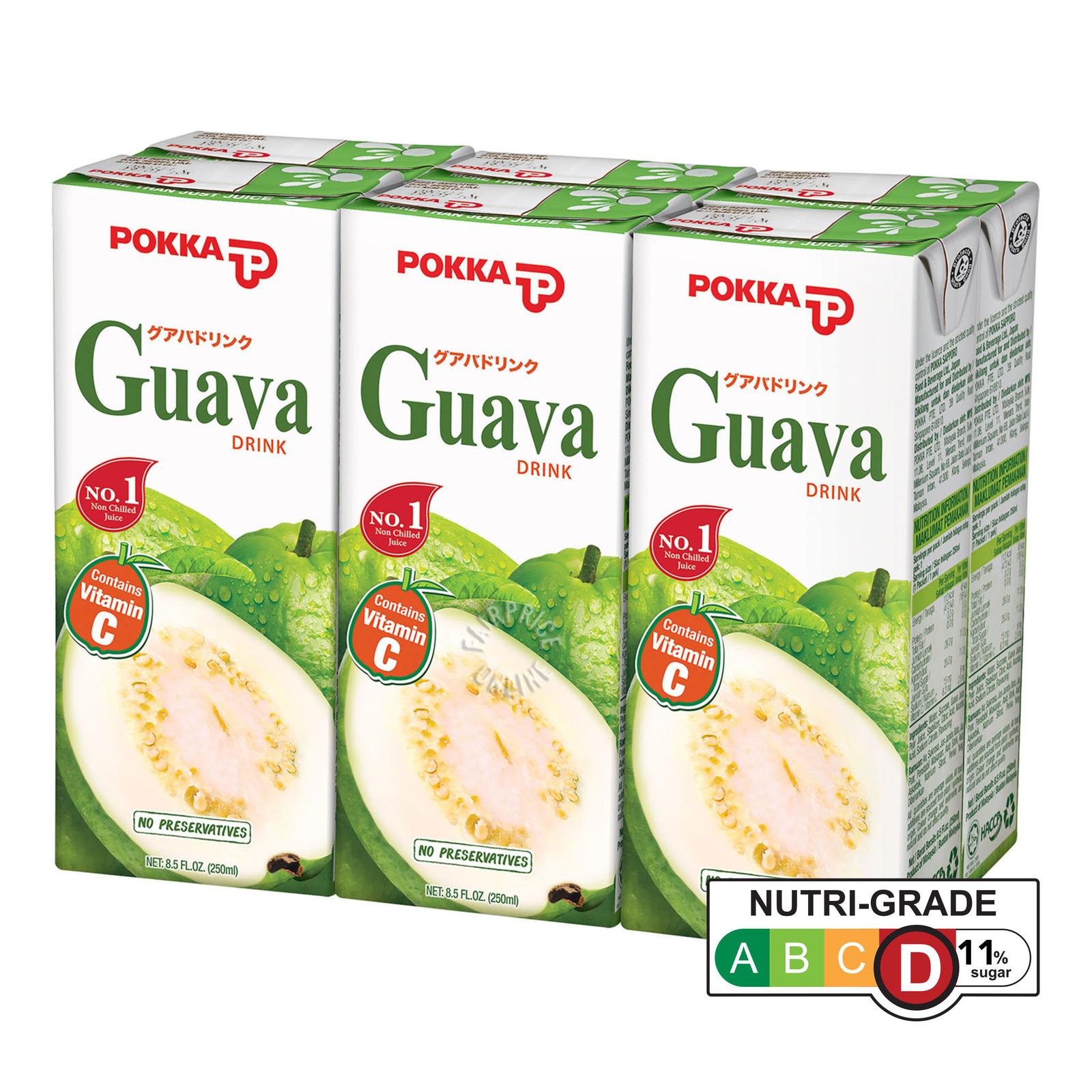 Pokka Soya Bean Drink (6 x 250ML)