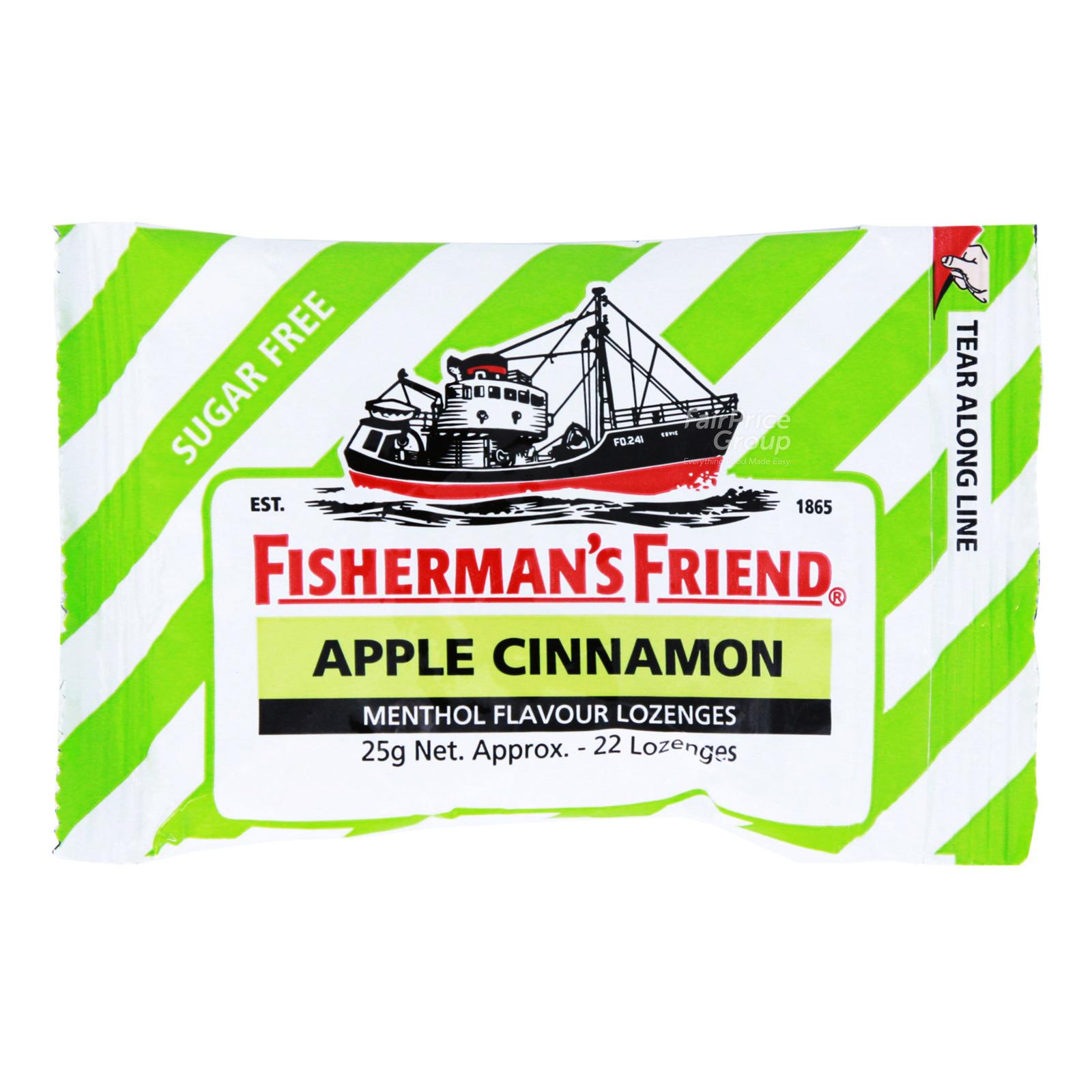 Fisherman's Friend Sugar Free Apple & Cinnamon Lozenges, 25g