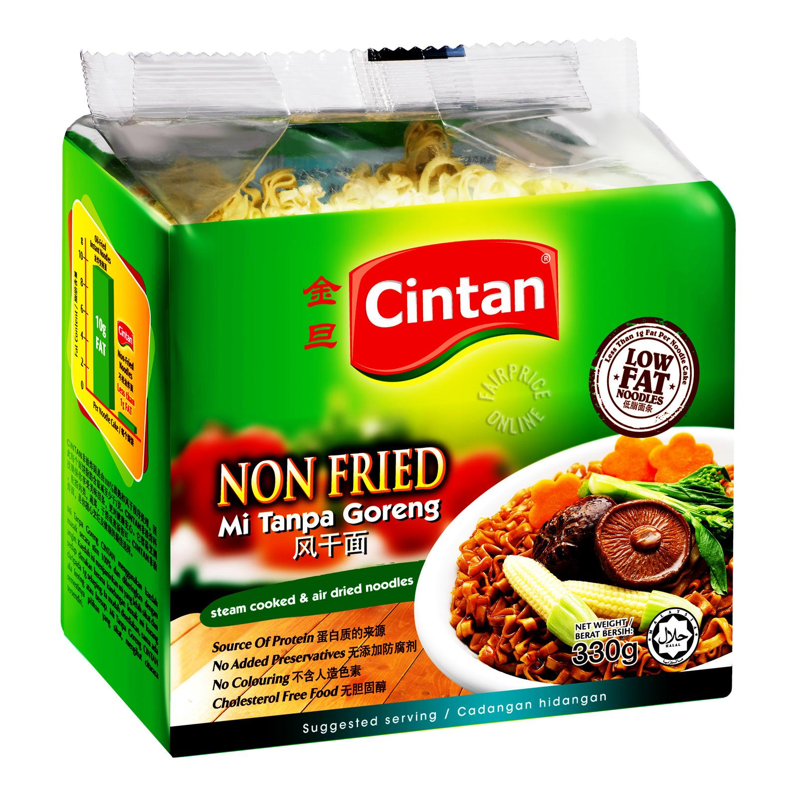 Cintan Non Fried Instant Noodle - Broad (Plain)