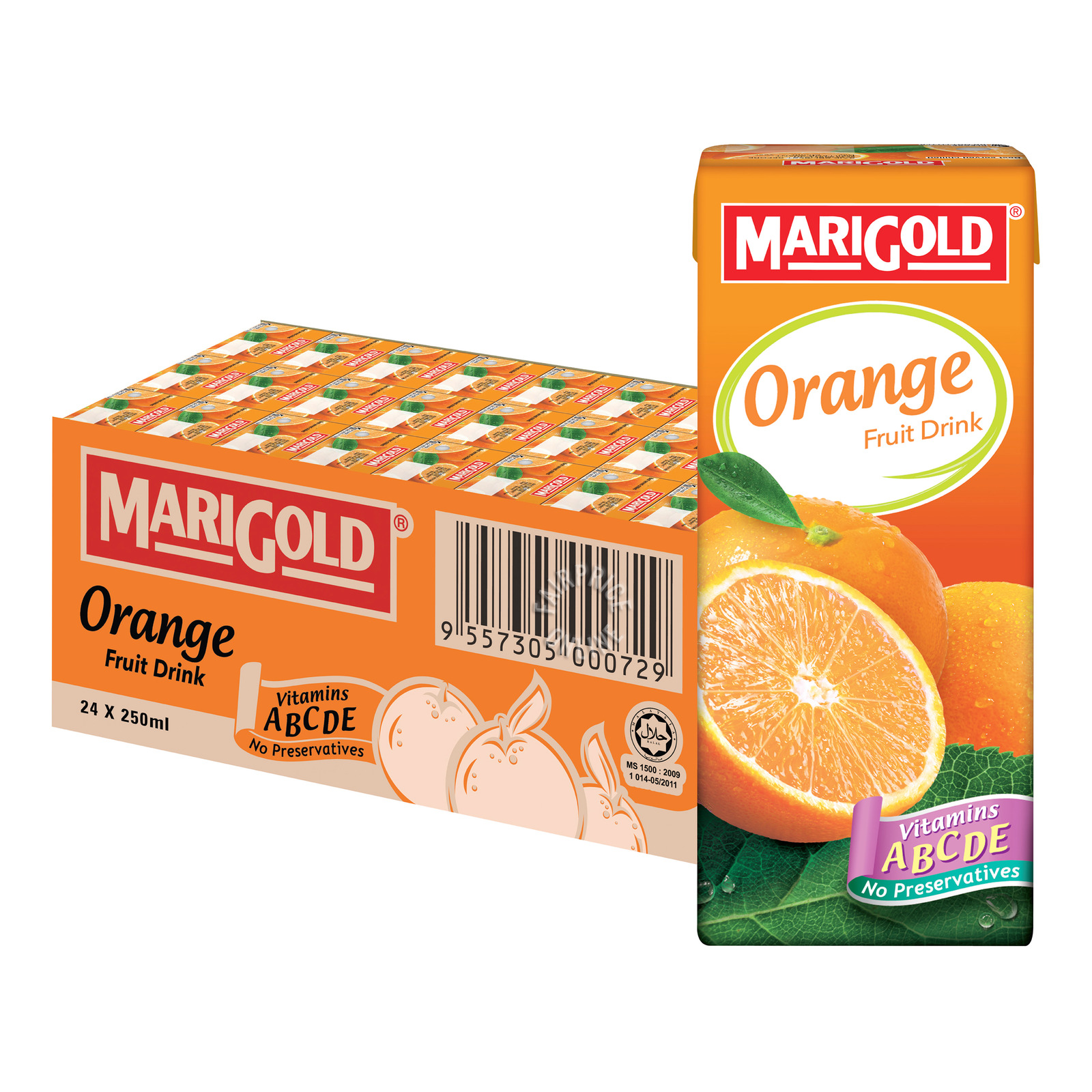 Marigold Packet Fruit Drink - Orange