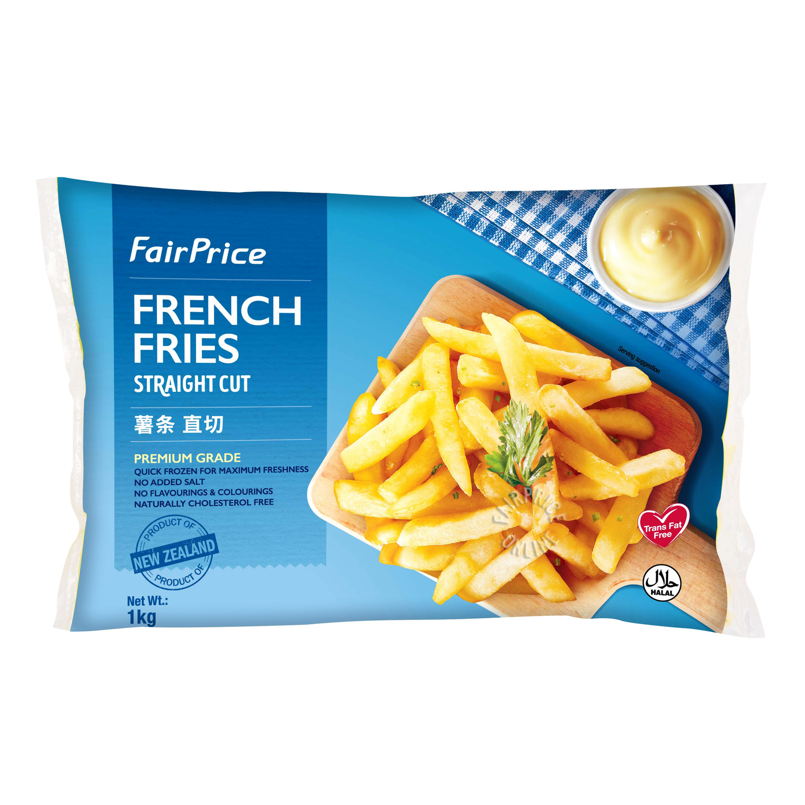 FairPrice Frozen French Fries - Straight Cut