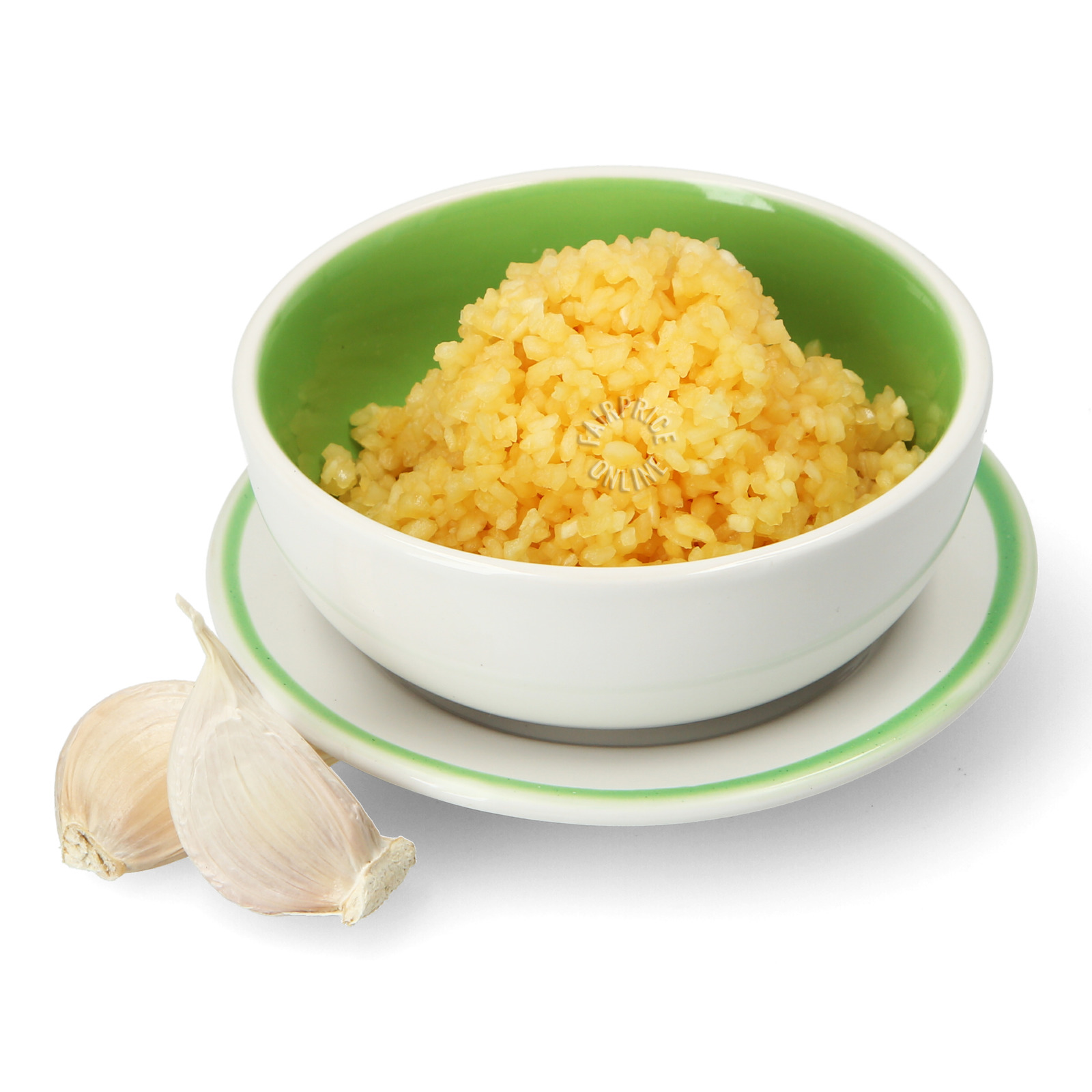 Defu Premium Grade Chopped Garlic - Cup
