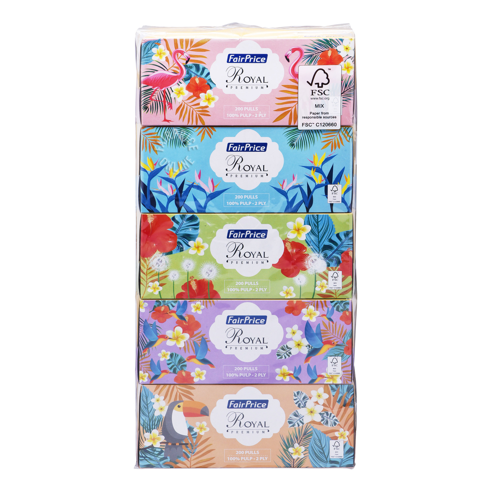 FairPrice Royal Premium Facial Tissue