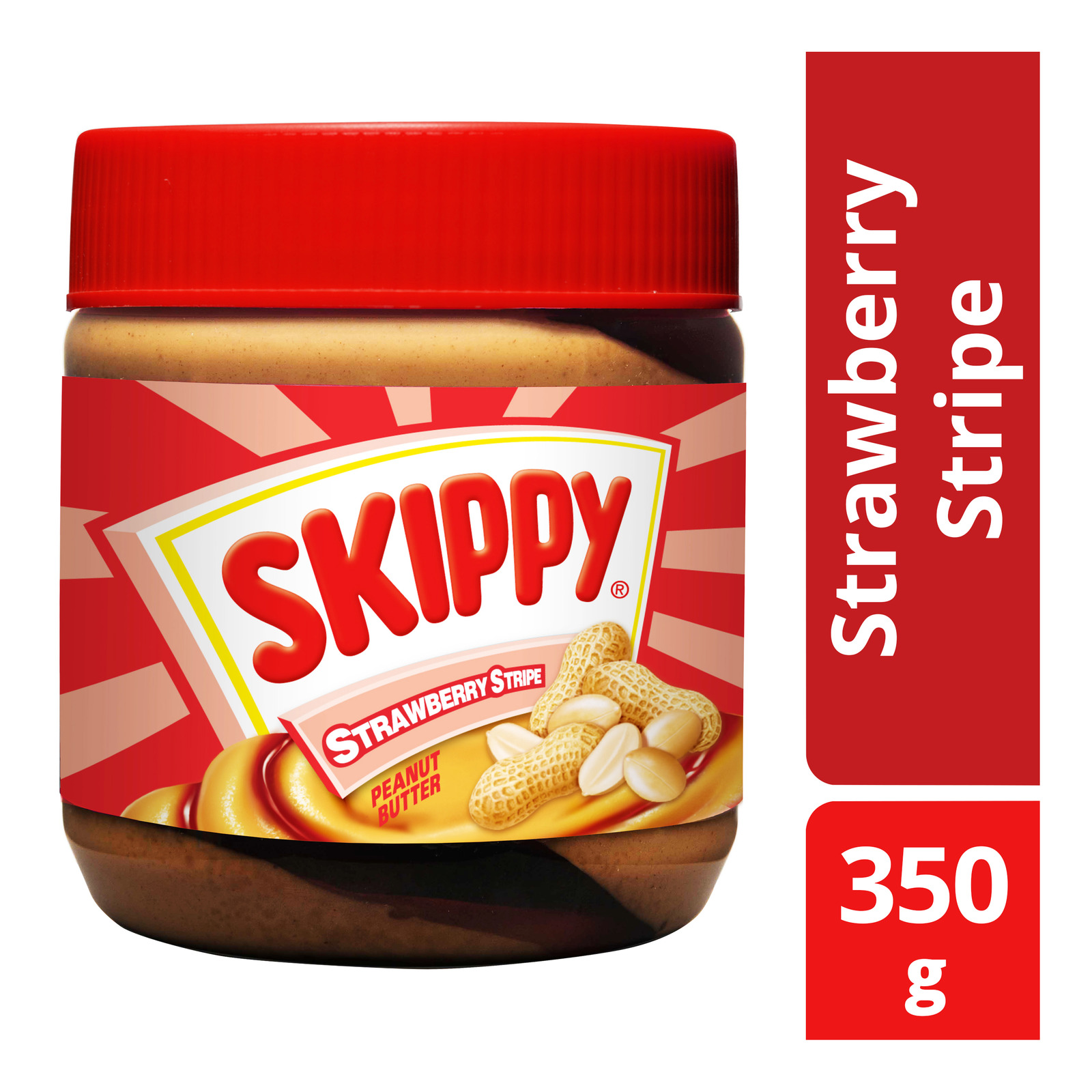 Skippy Peanut Butter Spread - Strawberry Stripe