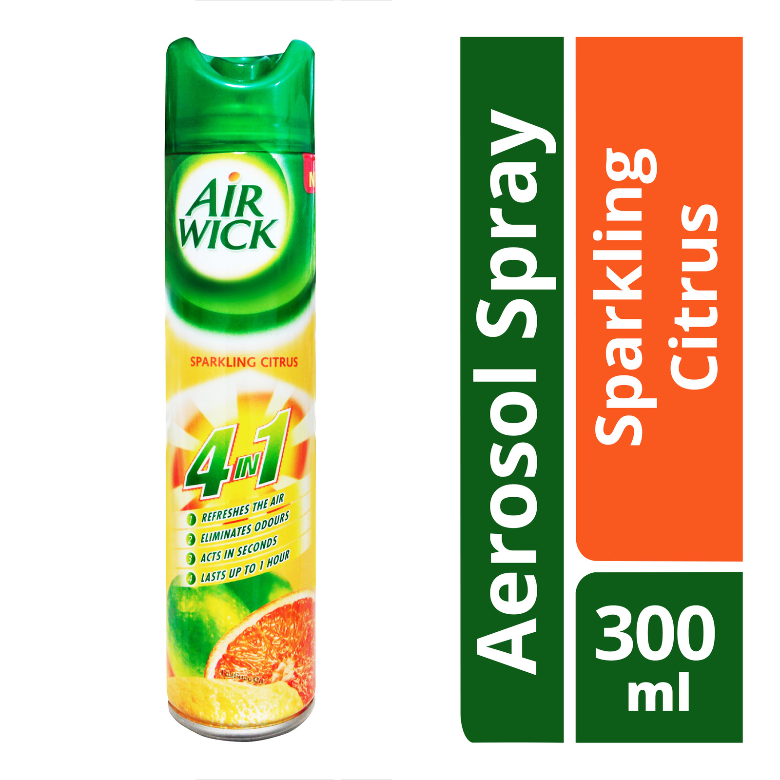 Air Wick 4 in 1 Aerosol Spray - Sparkling Citrus