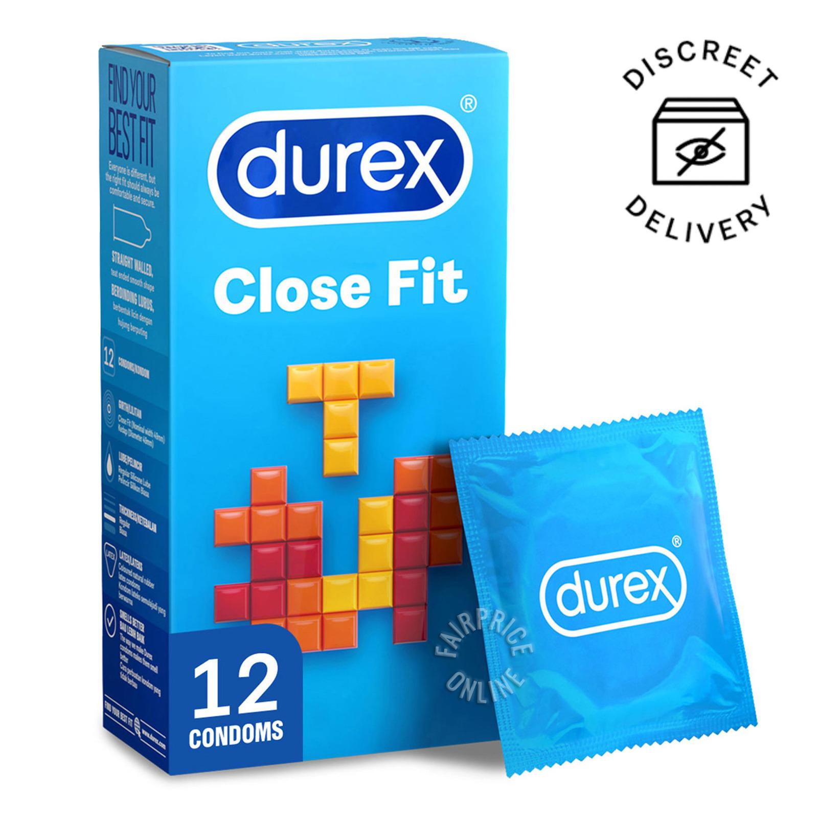 Durex Condom - Close Fit (49mm)