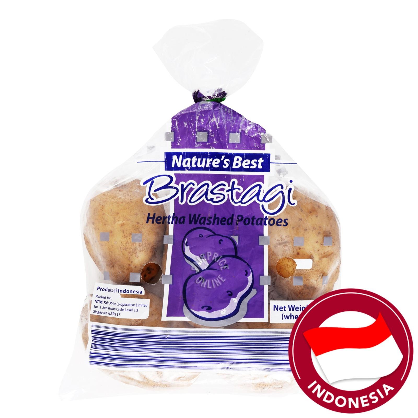 Nature's Best Brastagi Potatoes - Hertha (Washed)