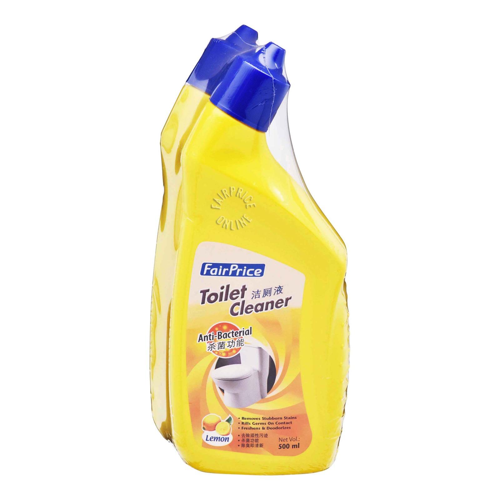 FairPrice Anti-Bacterial Toilet Cleaner - Lemon