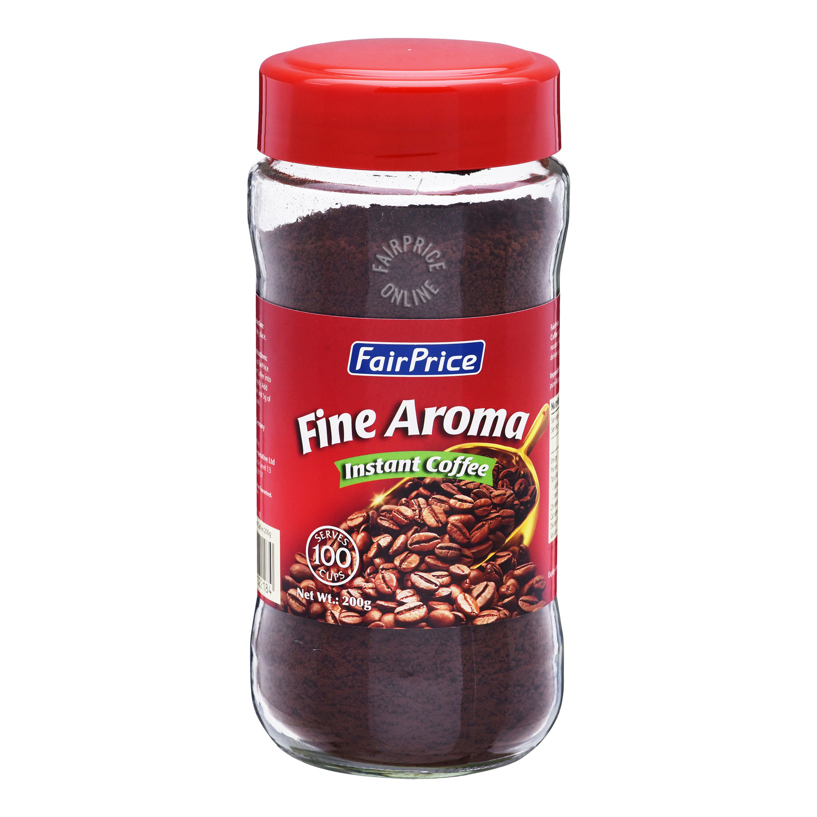 FairPrice Instant Coffee Powder Jar - Fine Aroma