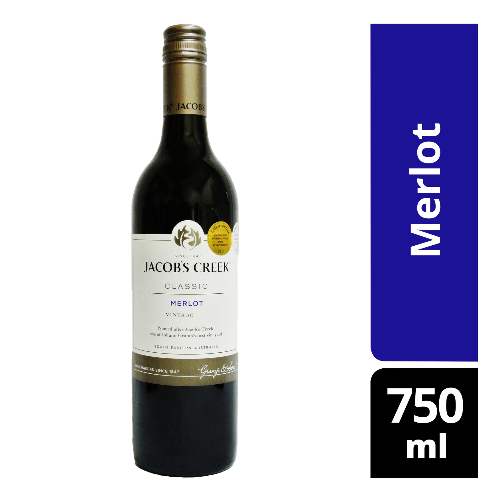 Jacob's Creek Classic Red Wine - Merlot