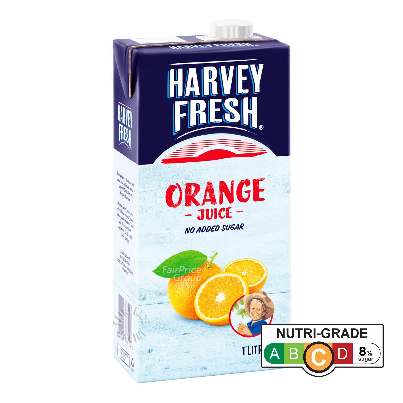 Harvey Fresh UHT Juice - Orange