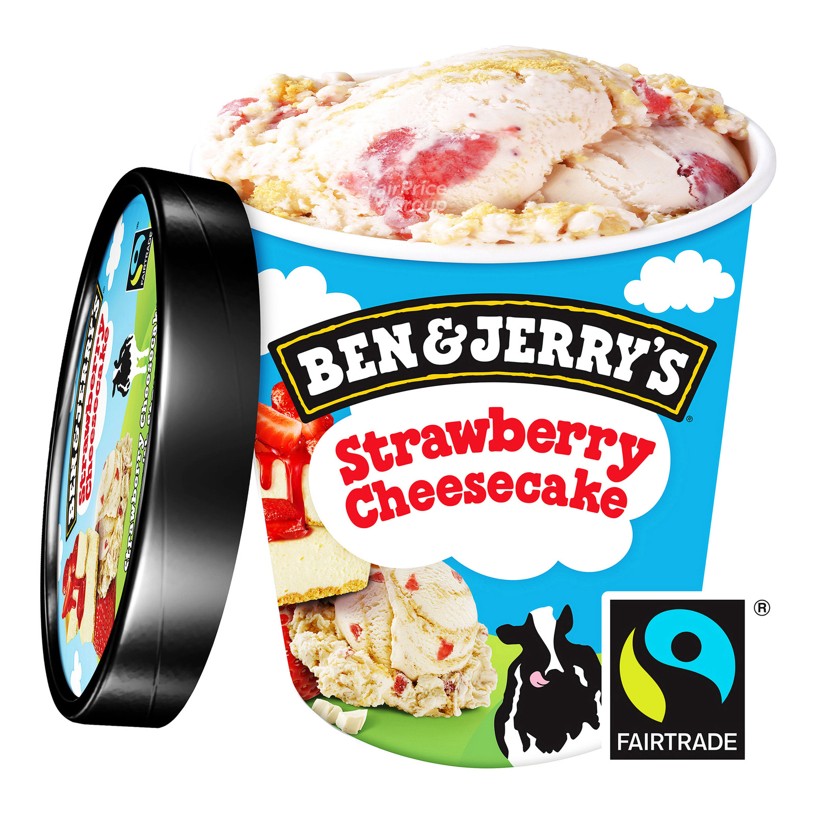 Ben & Jerry's Ice Cream - Strawberry Cheesecake