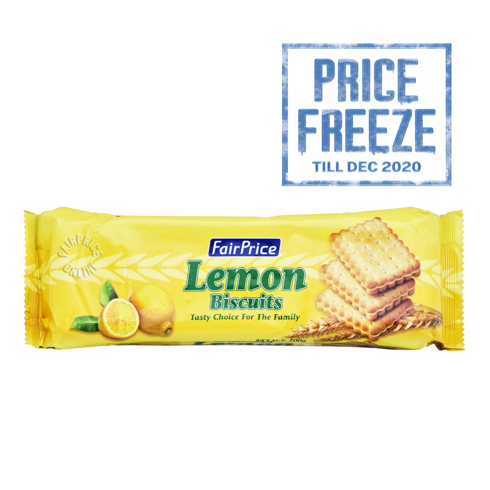 FairPrice Biscuits - Lemon