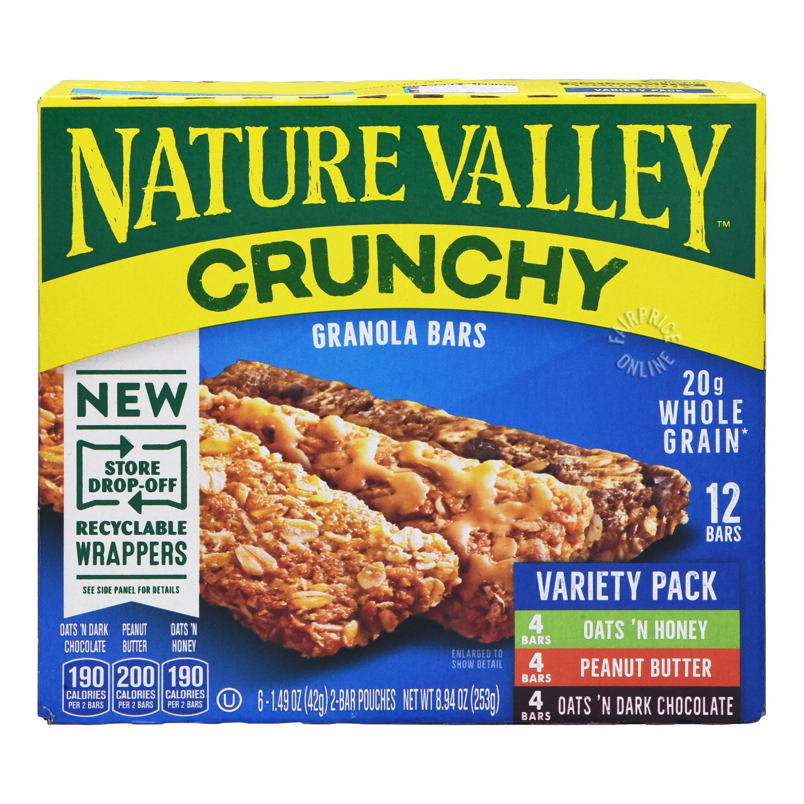 Nature Valley Crunchy Granola Bar - Variety Pack