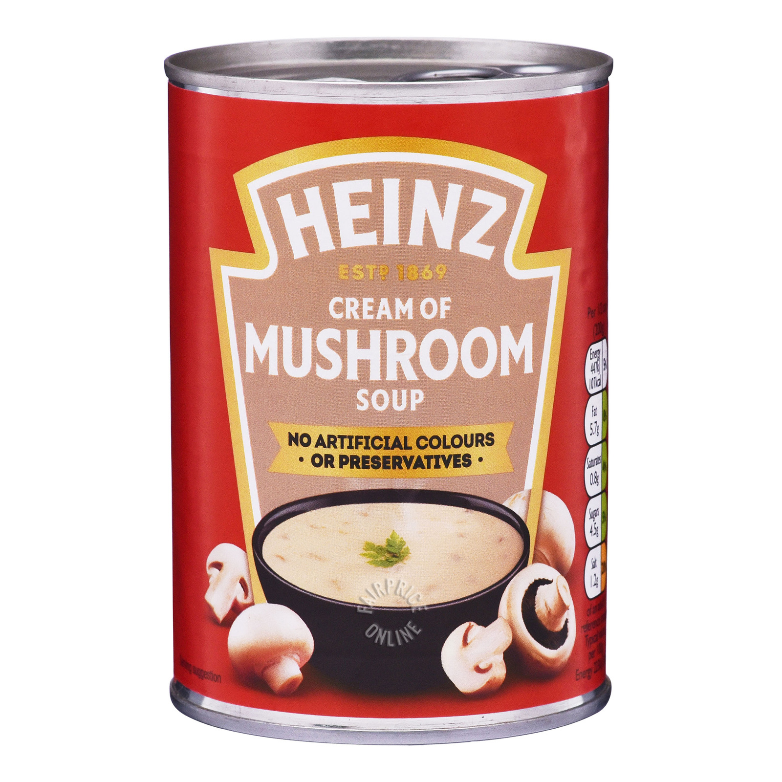 Heinz Can Soup - Cream Of Mushroom