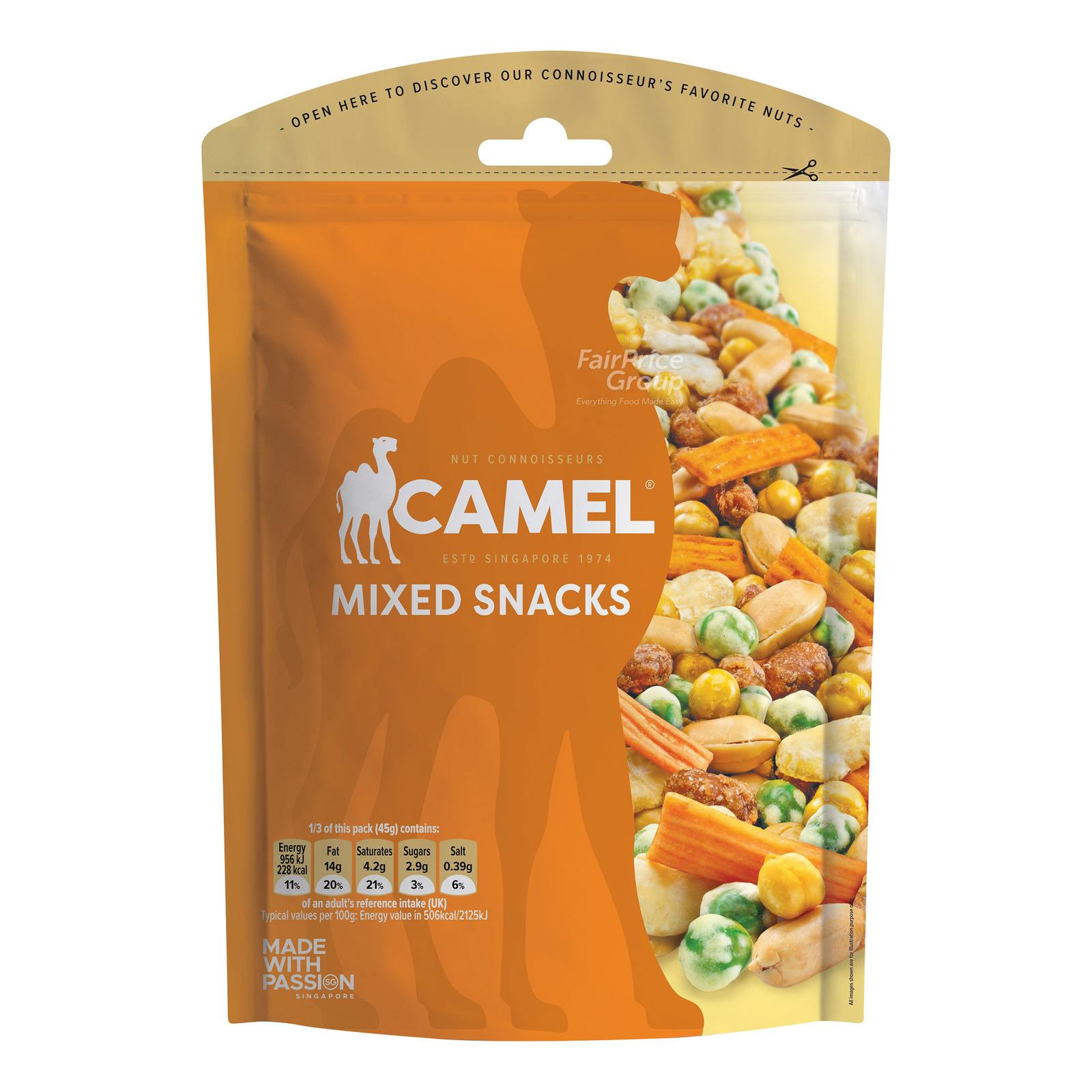 Camel Mixed Snacks
