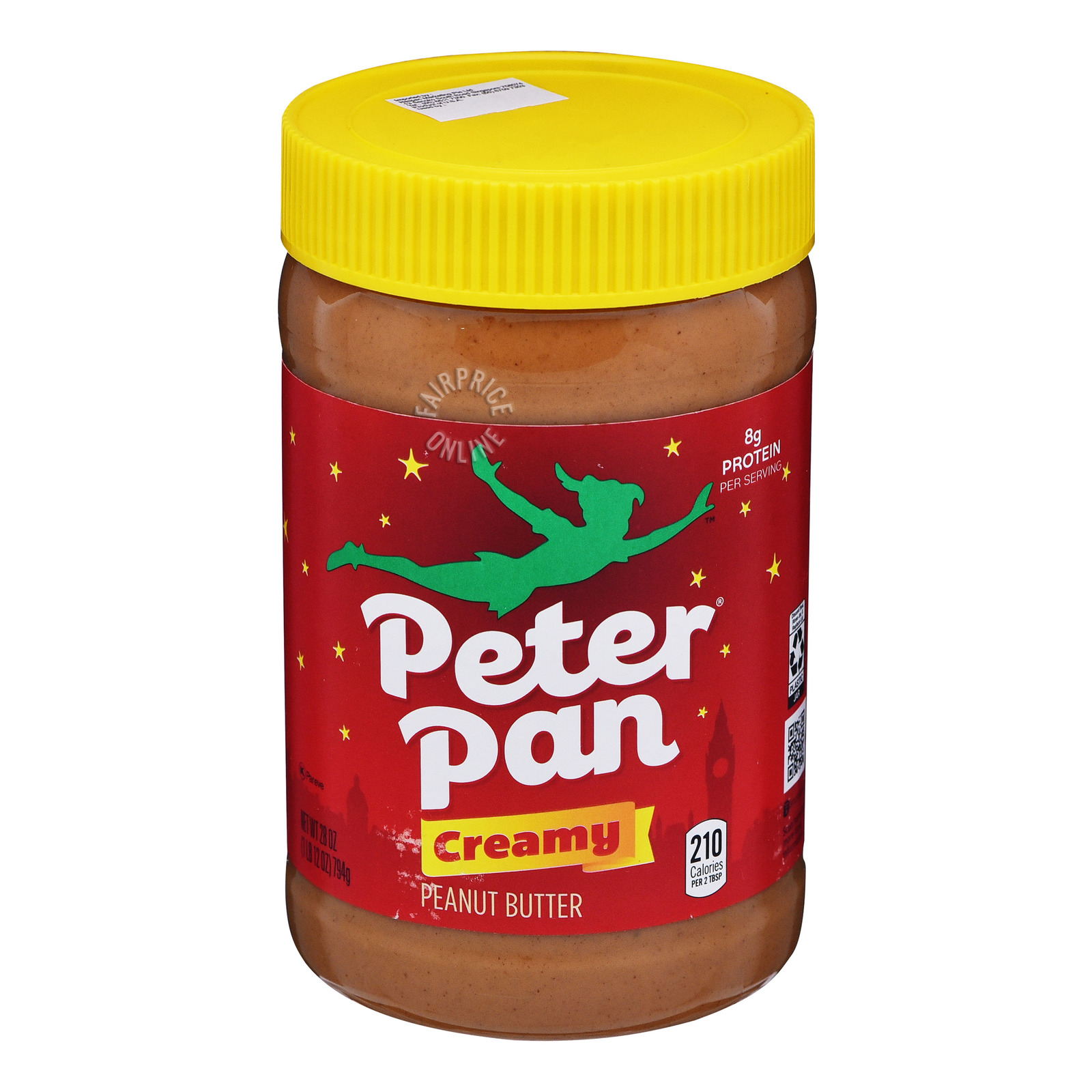 Peter Pan Creamy Peanut Butter - Regular
