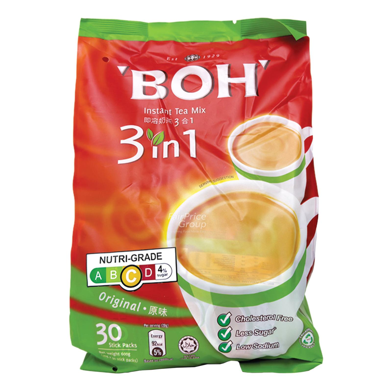 BOH 3 in 1 Instant Tea Mix - Original