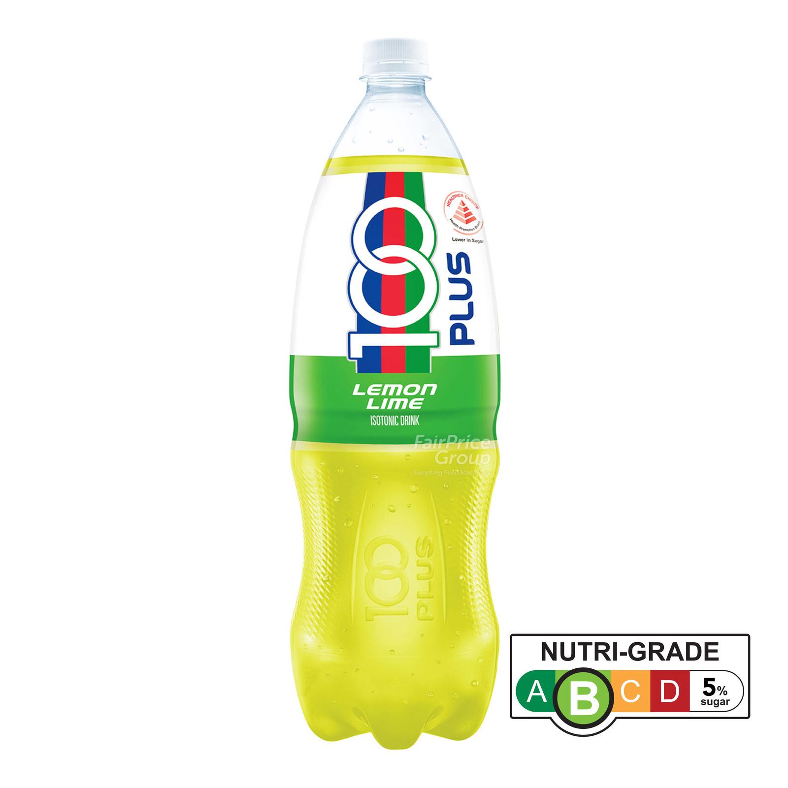 100 Plus Isotonic Bottle Drink - Lemon Lime