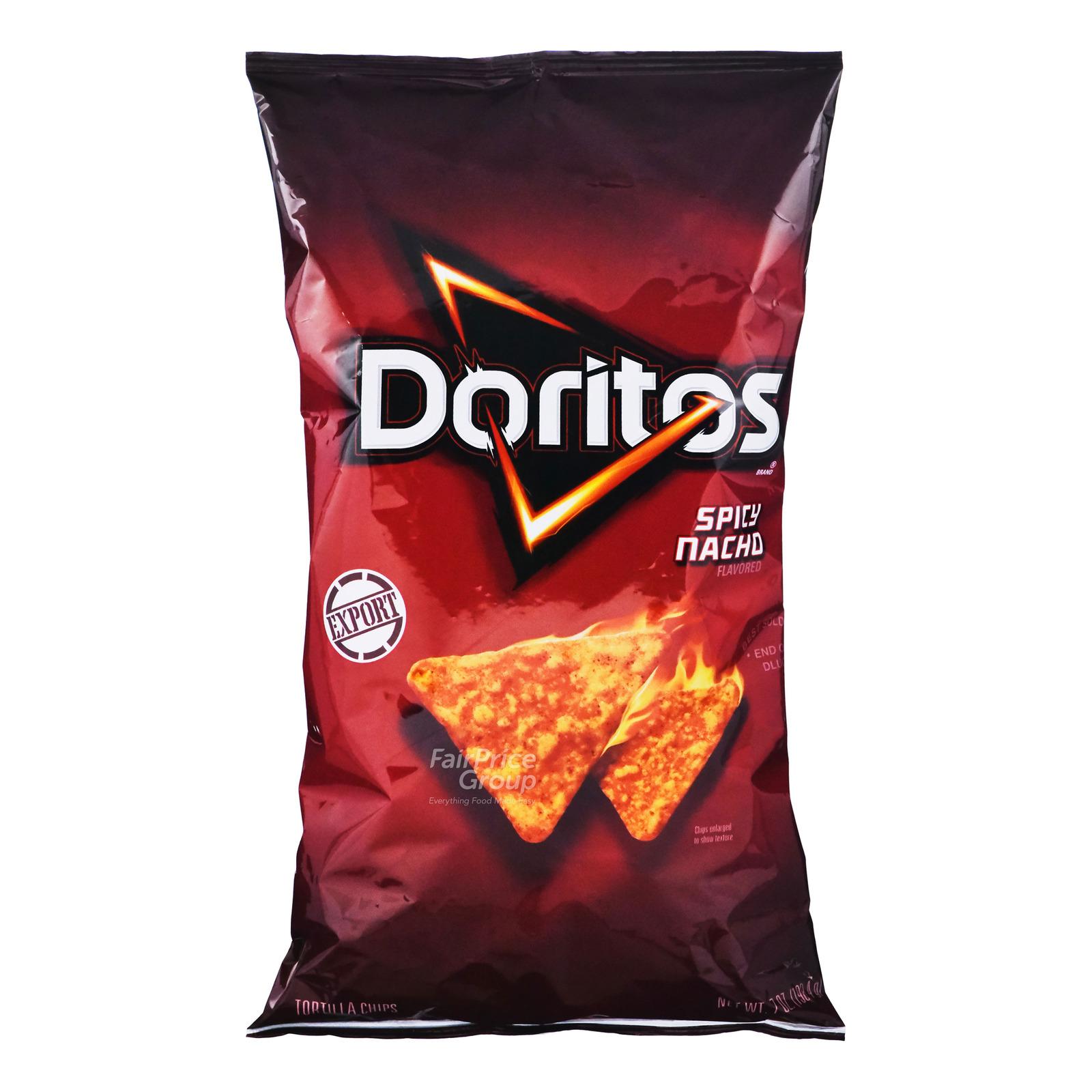 Doritos Tortilla Chips - Spicy Nacho