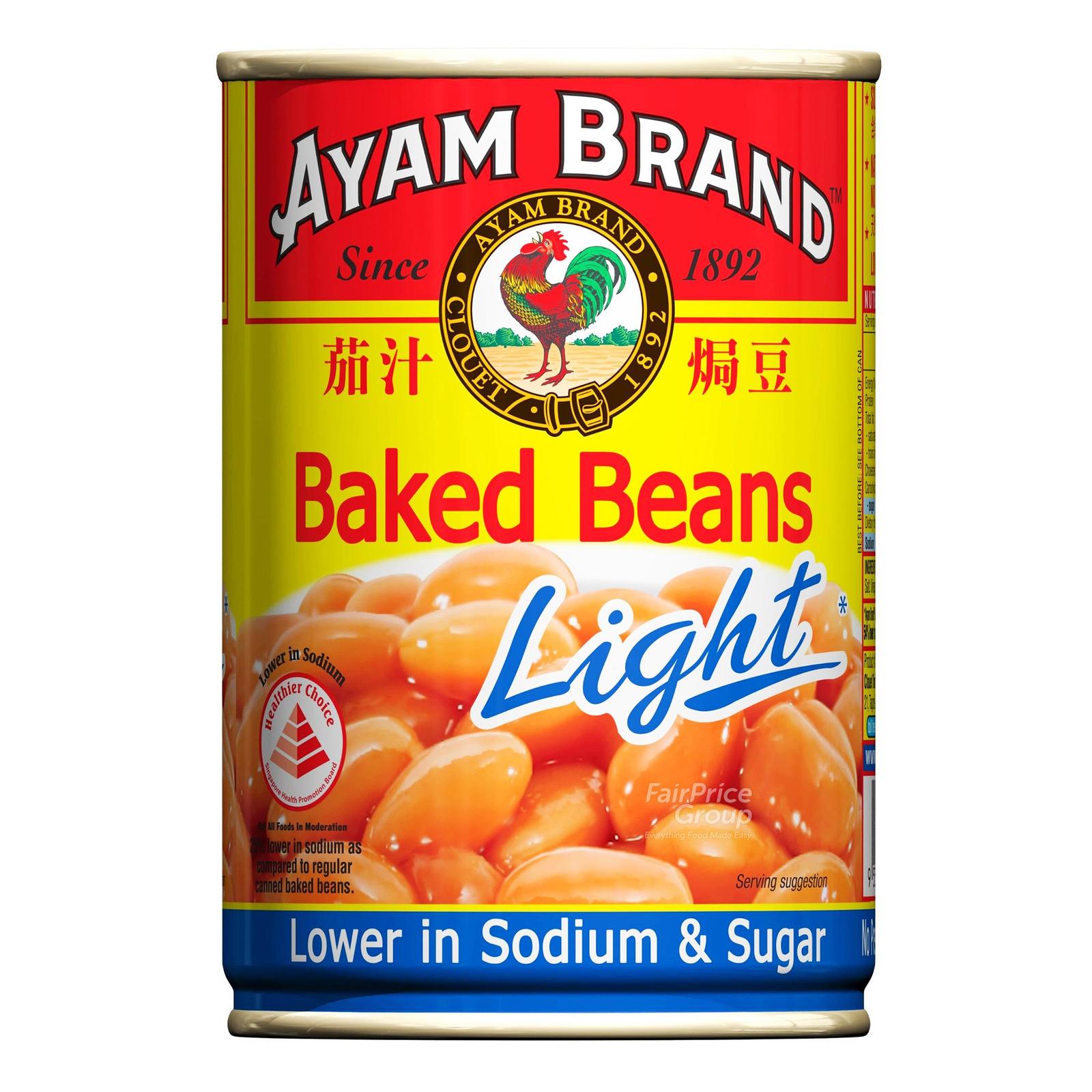 Ayam Brand Baked Beans Light Ntuc Fairprice