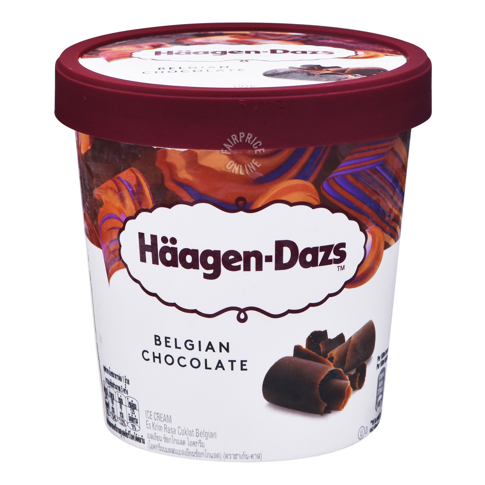 Haagen-Dazs Ice Cream - Belgian Chocolate