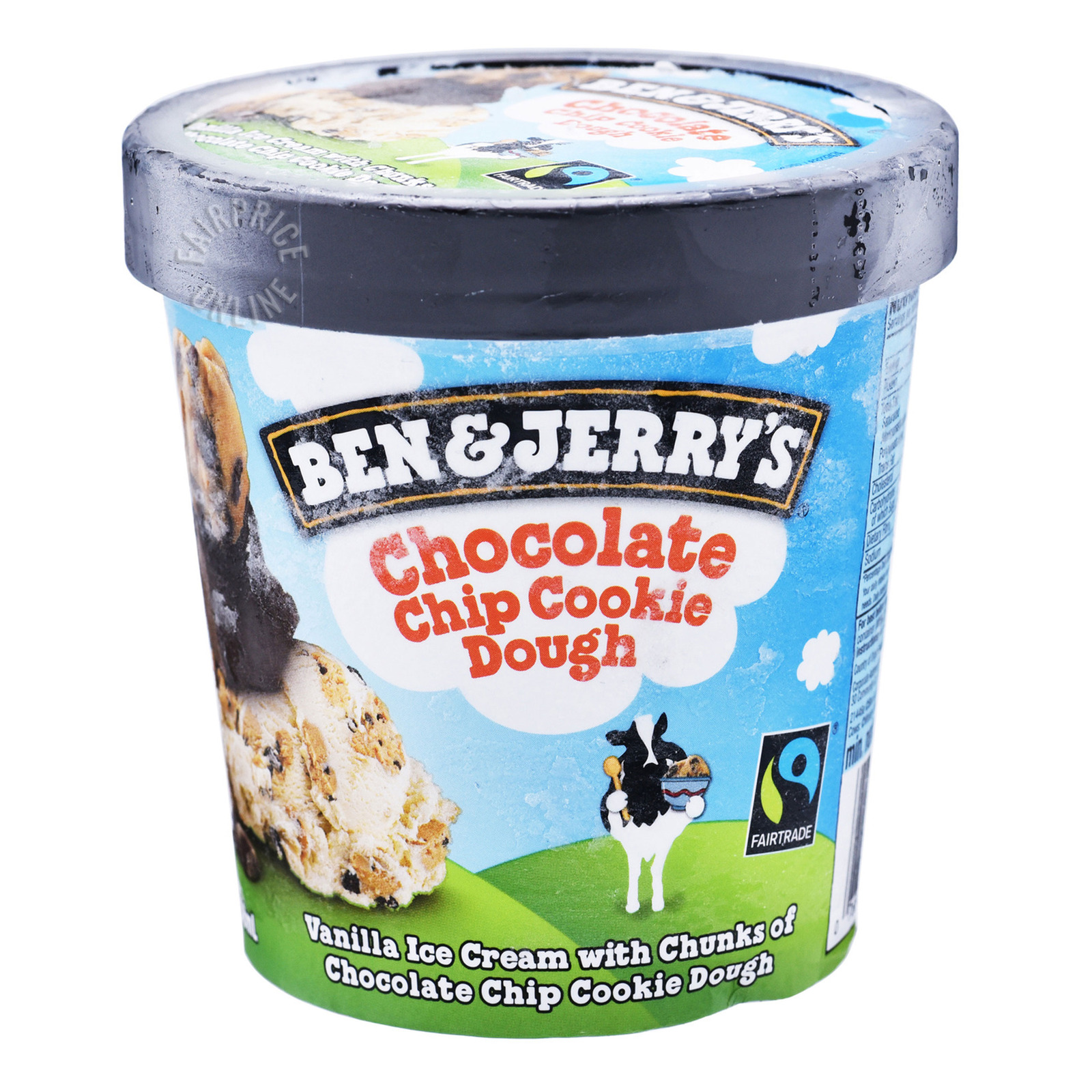 Ben & Jerry's Ice Cream - Chocolate Chip Cookie Dough