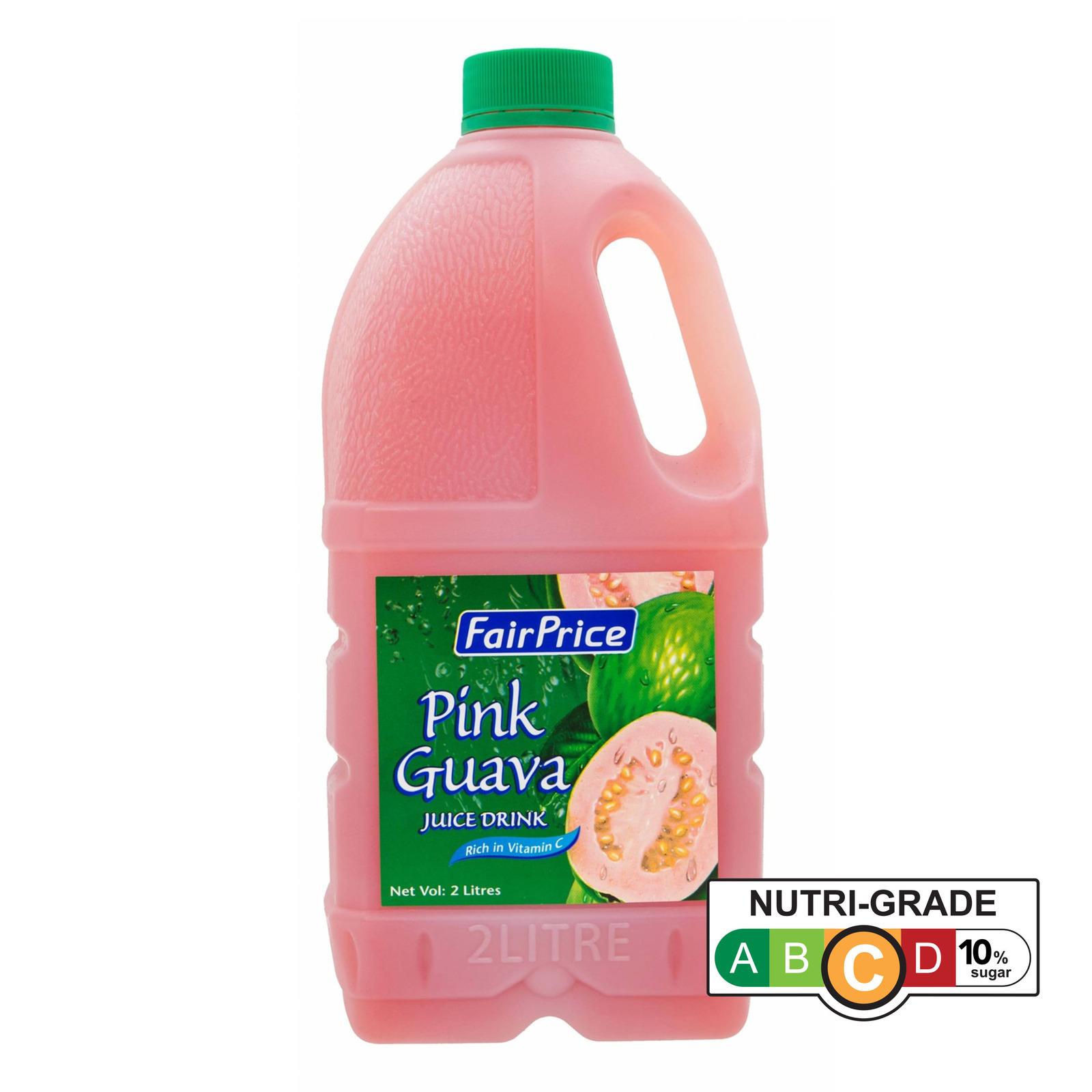 FairPrice Bottle Juice - Pink Guava