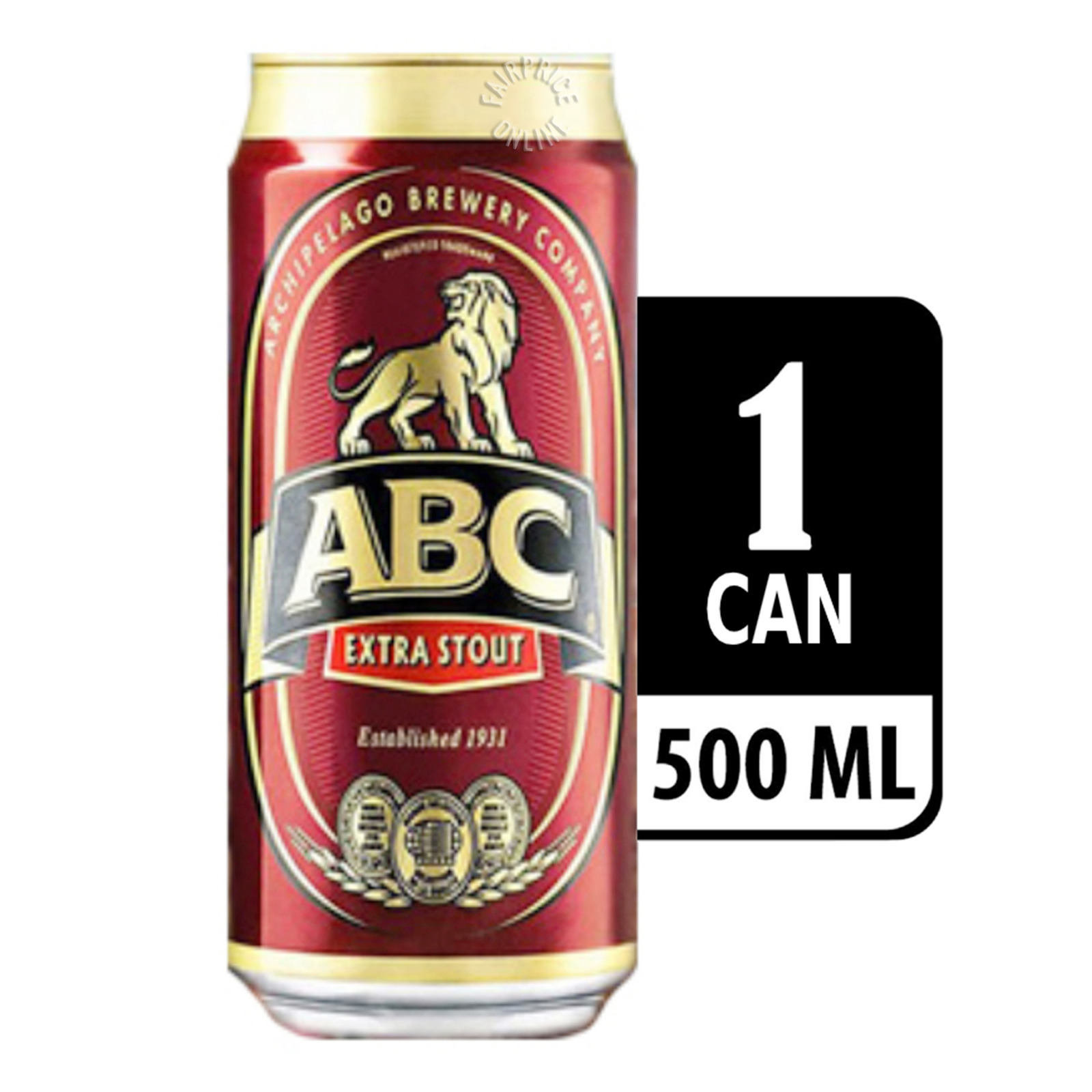 ABC Extra Stout ALC6% 500ML