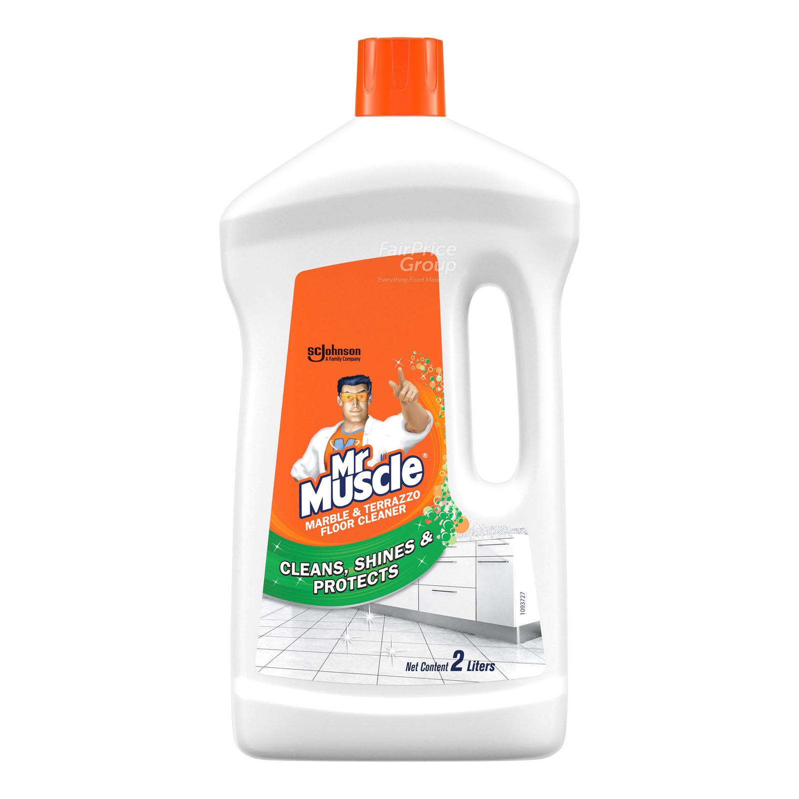 Mr Muscle 3 in 1 Floor Cleaner - Marble & Terrazzo