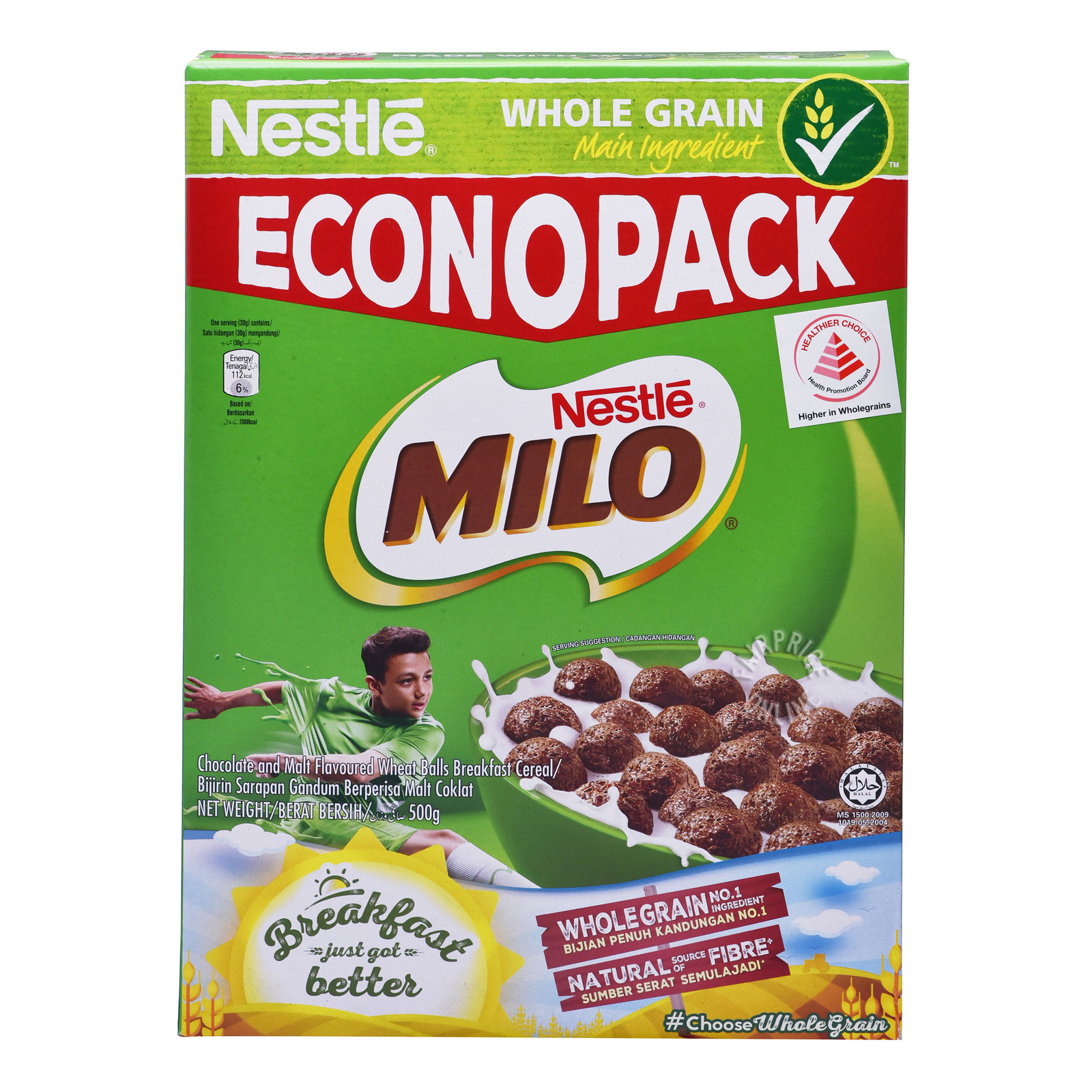 NESTLE Milo Cereal Econo Pack 500g
