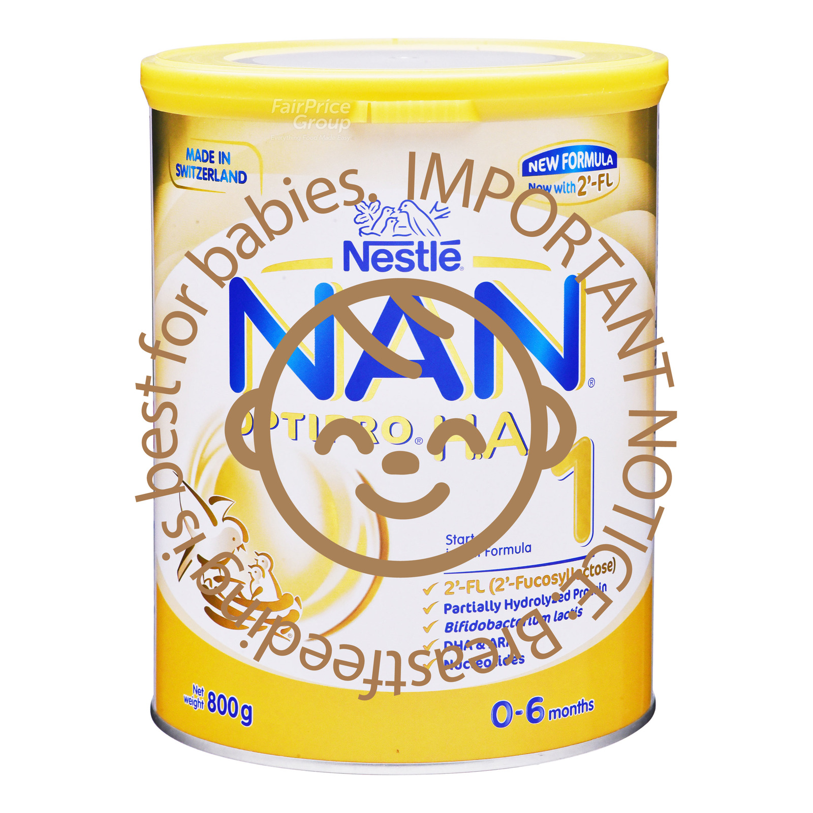Nestle Nan Optipro HA Starter Formula 2'-FL - Stage 1