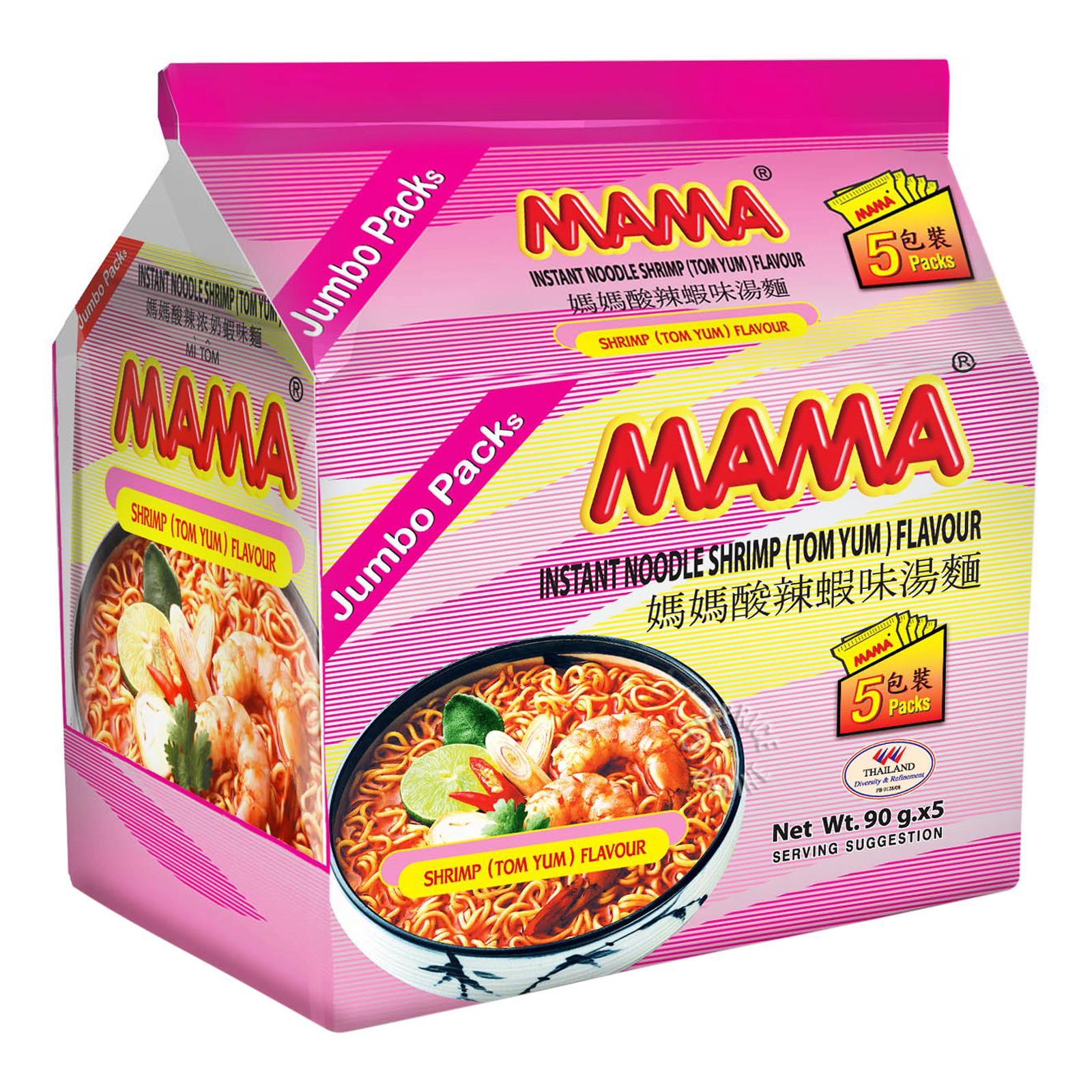 Mama Instant Noodles - Shrimp Tom Yum (Jumbo)