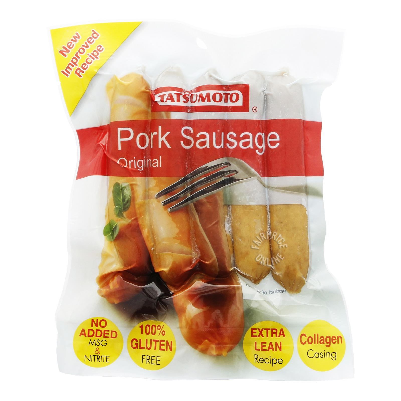 Tatsumoto Frozen Pork Sausage - Original