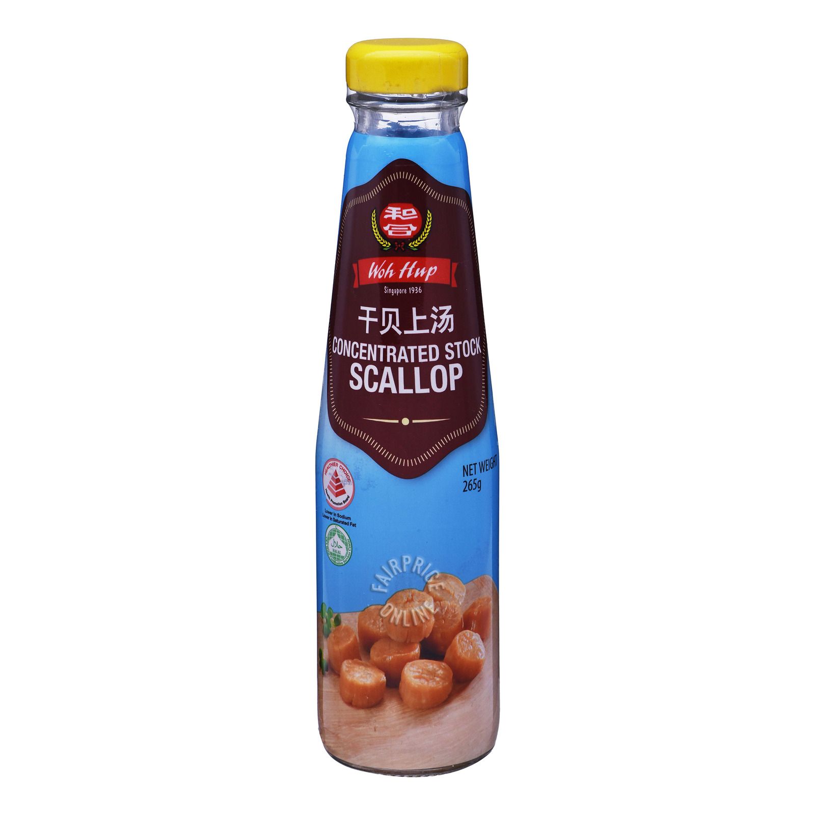 Woh Hup Concentrated Stock Sauce - Scallop