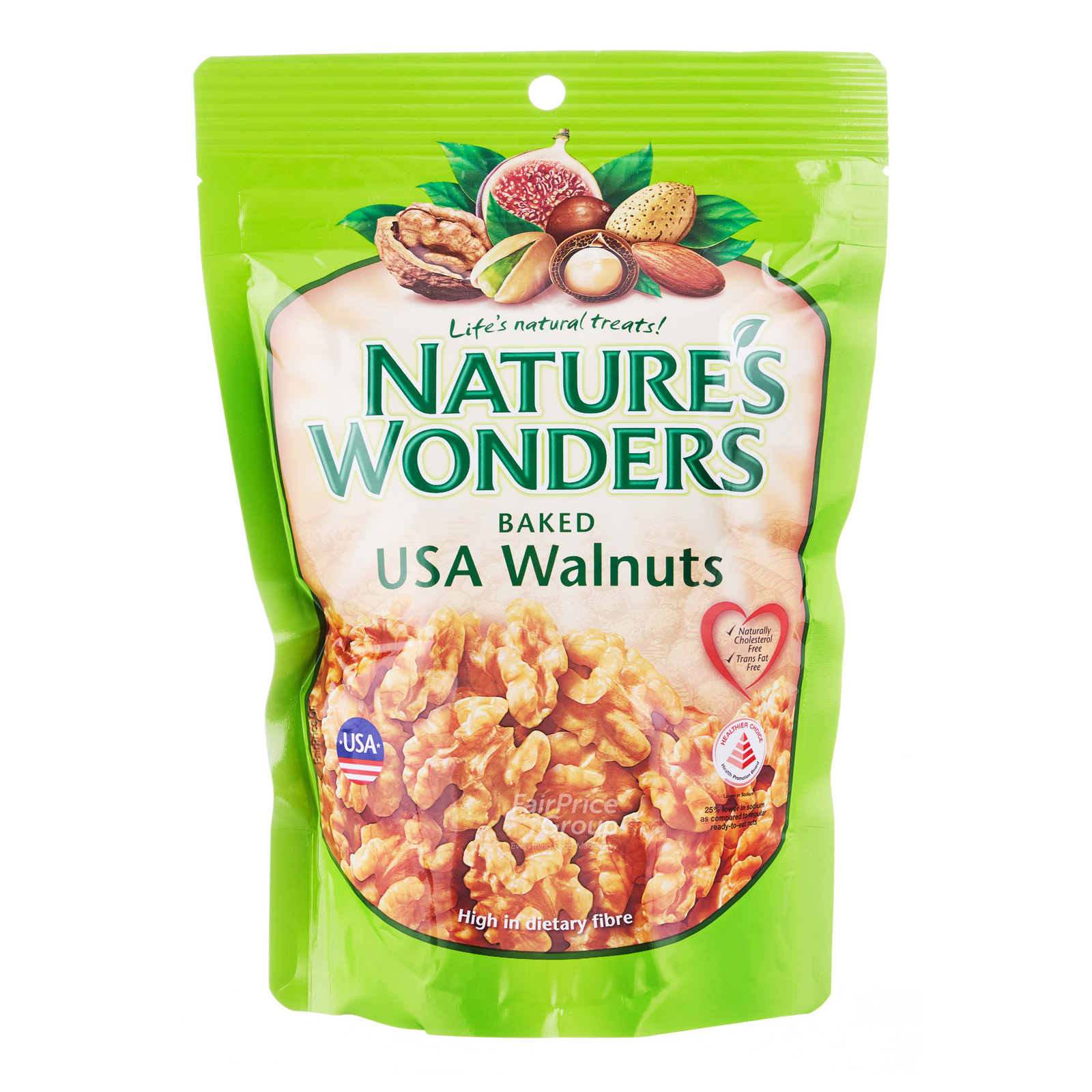 Nature's Wonders Baked Nuts - USA Walnuts