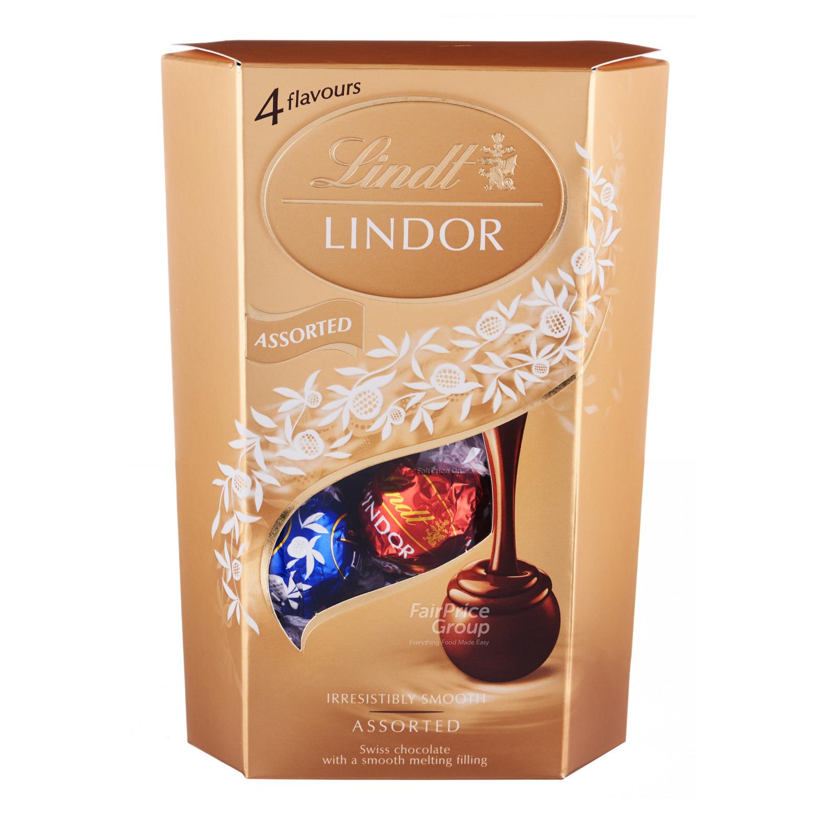 Lindt Lindor Cornet Chocolate Balls - Assorted