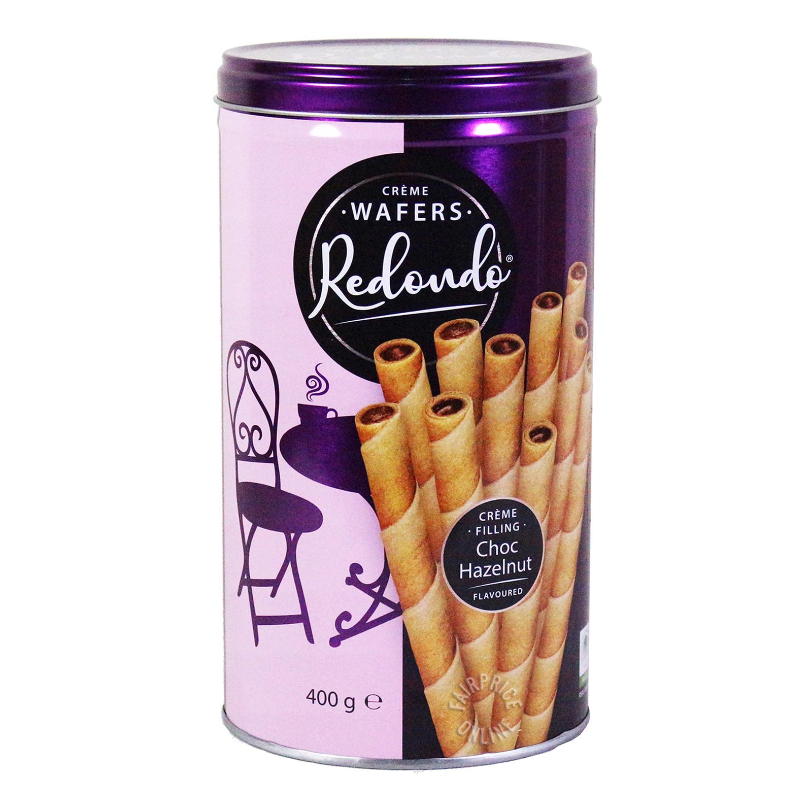 Redondo Cream Wafers - Chocolate-Hazelnut