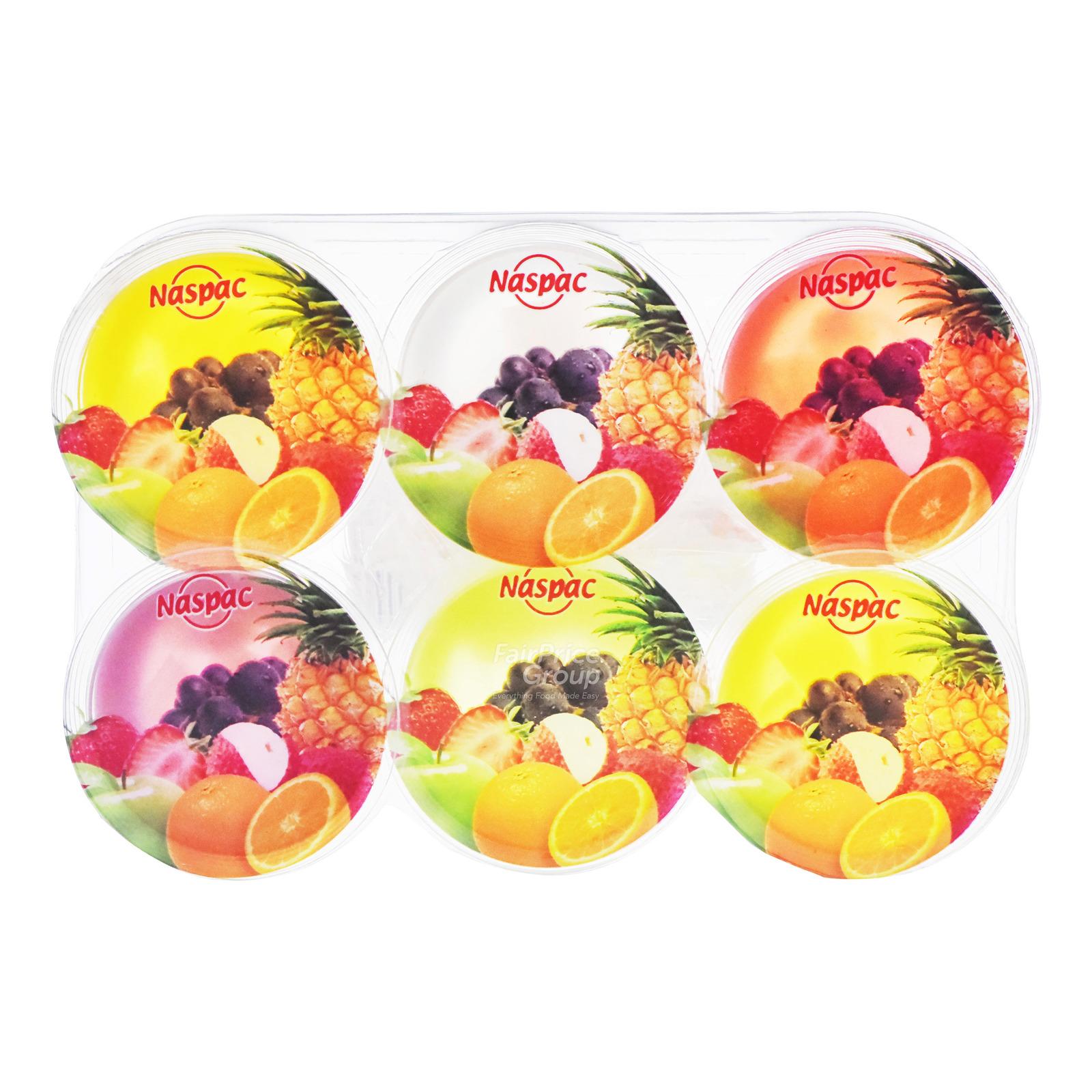 Naspac Jelly with Nata De Coco Cup - Mixed Fruit
