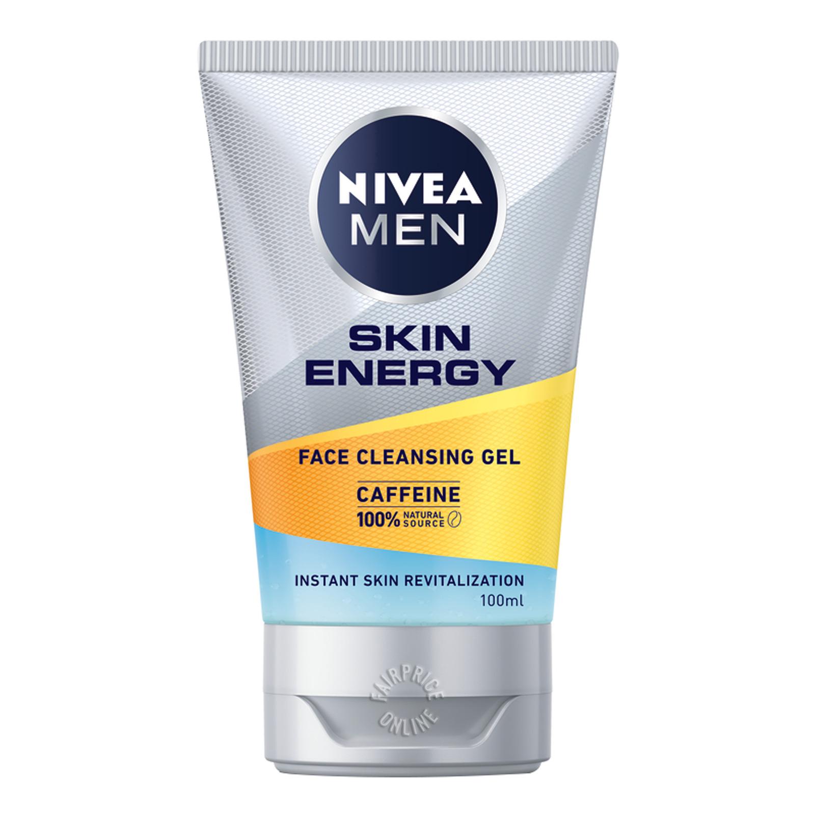 Nivea Men Active Energy Face Wash - Revitalising