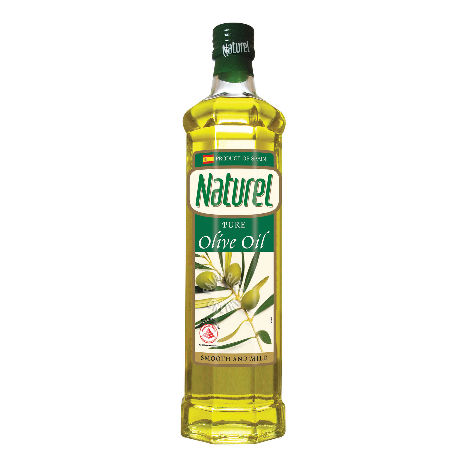 NATUREL Pure Olive Oil - Mild and Fruity 750ml