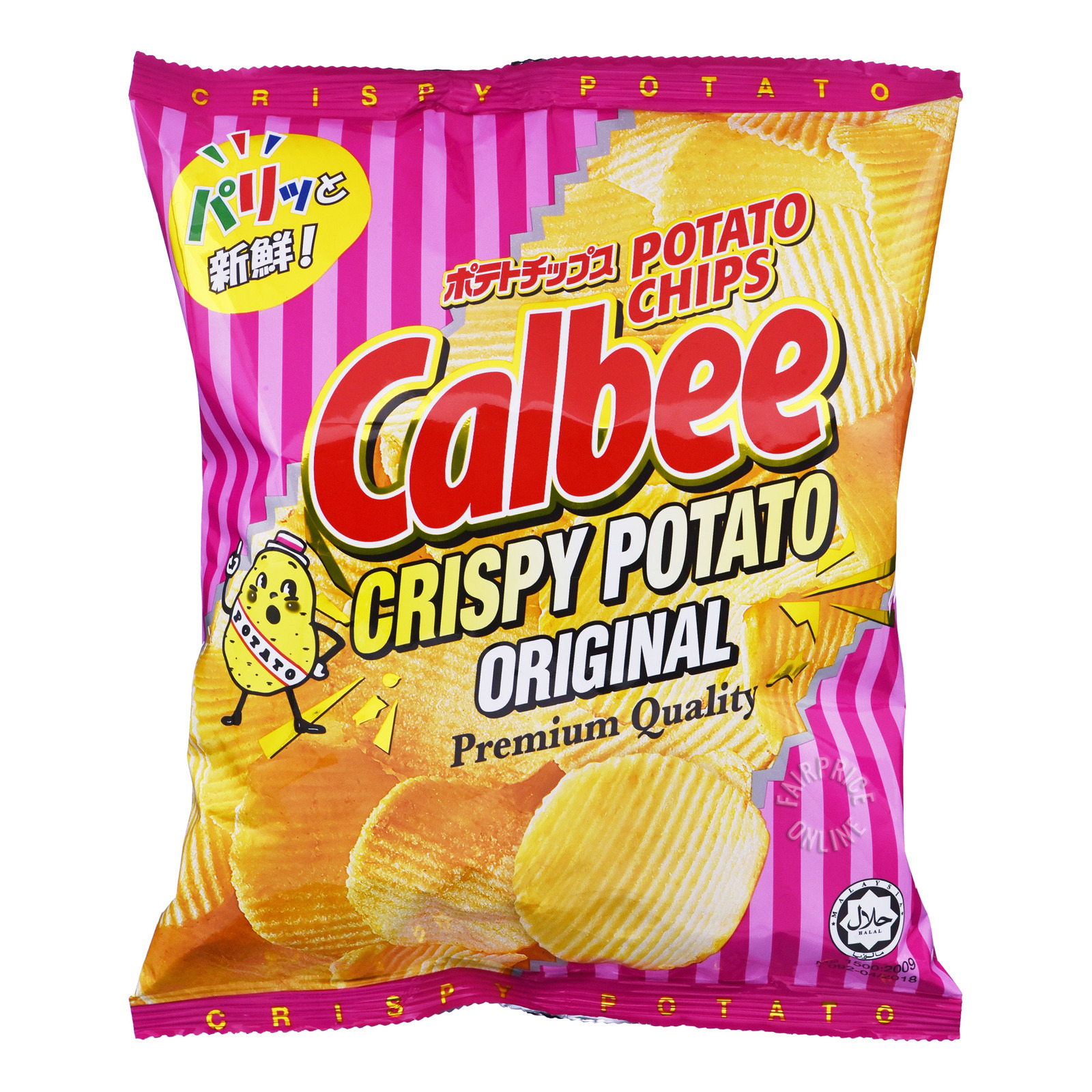 CALBEE Crispy Potato Original 80g