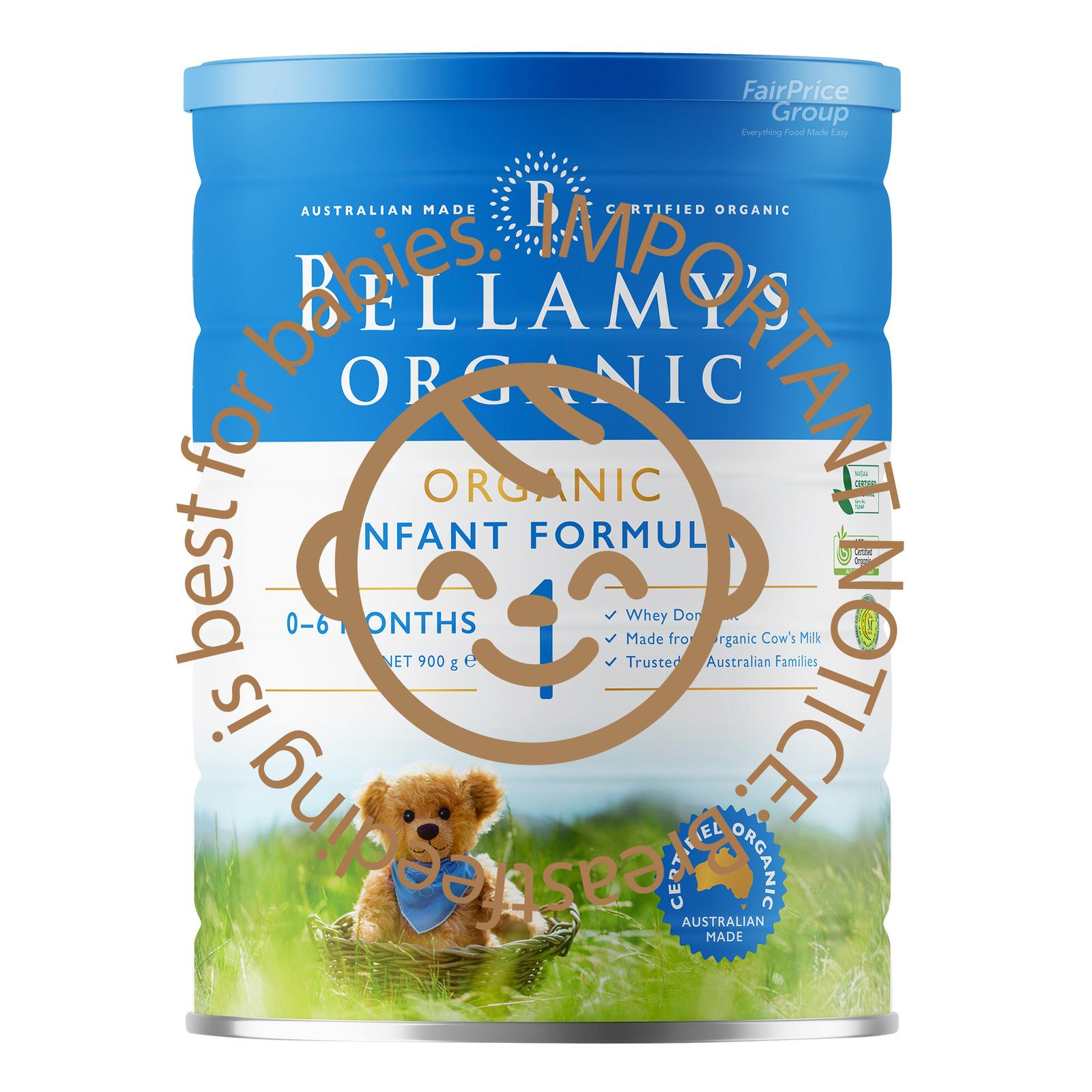Bellamy's Organic Infant Milk Formula - Step 1